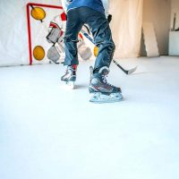 Synthetic Ice vs. Real Ice