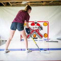 hockey shooting tiles